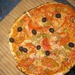 Last night - last pizza; YUMMY!