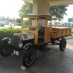 Model T Truck Out Front