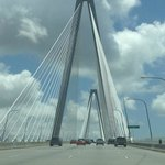 Cooper river bridge, with in 10min from Hotel