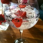 New Bloom gin - delicious
