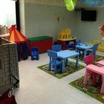 La sala per i bimbi più piccoli
