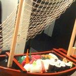 sushi combi boat