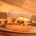 delicious breakfast hotdog <3