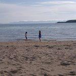 My girls on the beach