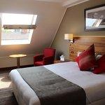 chambre double sous toit