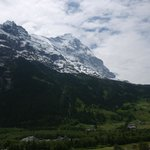 View from room - Mt. Eiger
