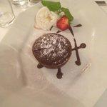 Da Aldo Warsaw - chocolate souffle