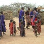 Tra i masai