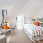 Grand seaview Bedroom with double aspect