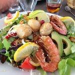 Belle salade du grenier à sel