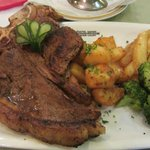 T Bone steak looks yummy but .......