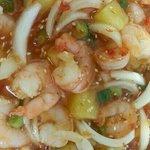 Pineapple shrimp