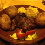 Steak + Roasted Corn + Bell Pepper + Avocado