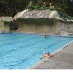 piscina termal super calurosa