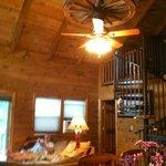 Livingroom, Spiral Stair to loft
