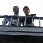Lahcen et Simon, beaux moments...