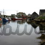 Peggy's Cove village, just down the road