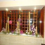 Eingang zur Hotelbar