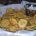 Fried pickles - just say no