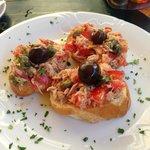 Scrumptious Tuna Bruschetta