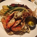 Kobe Beef and Crab Legs