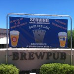 Boulder Dam Brewing Co. Sign