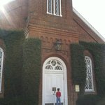 chapel was closed.... booo