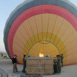 Hot air balloon with Urgup Balloons