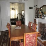 Dining room on the first floor