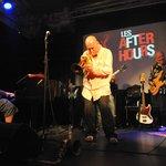 Stephane Belmondo, Eric Legnini , Jean-marc Jafet lors desAfter Hours du Nice Jazz Festival 2013
