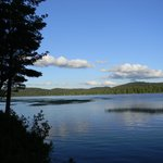 View of Big Moose Lake from the Lean-To