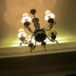 Good set of lamps of ceiling