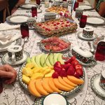 Huge Breakfast at 9a.m - It's your own fault if you go away hungry!