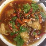 braised fish in chili oil( traditional Chinese food)