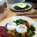 Far Table and Garden eggs (bacon extra)