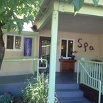 Spa available for massages etc