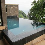 Our private infiniti pool