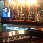 At the bar...
