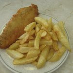 child portion fish and chips