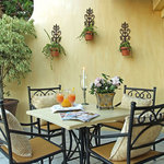 Patio of Strelitzia Room