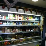 A sumptuous variety of  delicious local organic foods and drink