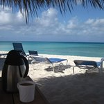 Cabana Coffee and the beach...Perfection