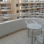 Balcony, room 411