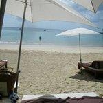 La plage de l'hôtel à 10 mn.