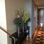 Blumen Deko in der Lounge