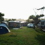 Camping a pie de duna.