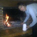 Preparando el fuegooooooooo°°
