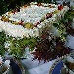 torta da cerimonia dello chef pasticcere