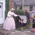 Hunter Ringing Bell at Living Civil war History Museum -Thanks Marsha and Tom for all you do !!