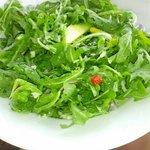 arugula salad..all arugla